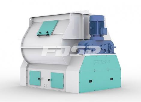 Misturador de alta eficiência com eixo d