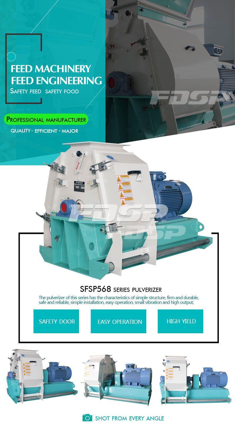 SFSP568 Series Tear Circle Hammer Mill