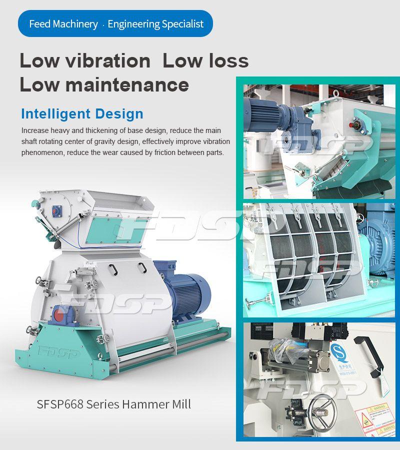 SFSP668 Series Tear Circle Hammer Mill