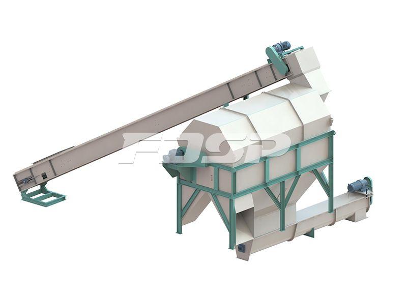 1.5-2.5t/h biomass sawdust pellet production line