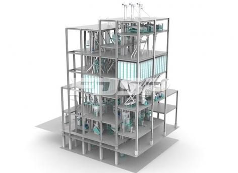 Linha de produção de ração comum para peixes de SZLH420 de 3 linhas(produção de