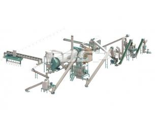 Linha de produção de 2-3 toneladas / ho