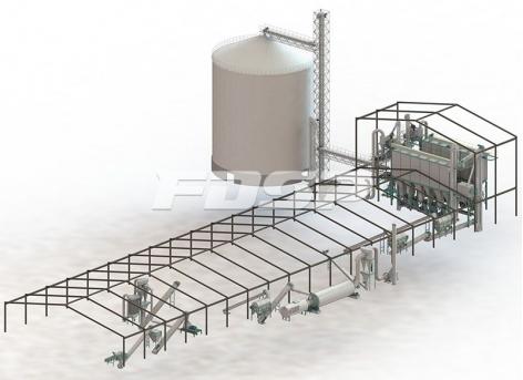 linha-de-produção-de-sucata-de-10-toneladas-por-hora