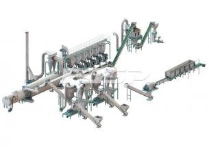 linha de produção de granulação de to