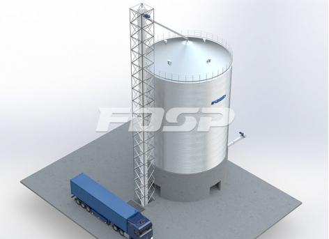 Projeto de silo de aço para sorgo para indústria cervejeira 1-1500T