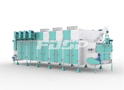 Secador de circulação horizontal da série SHGW