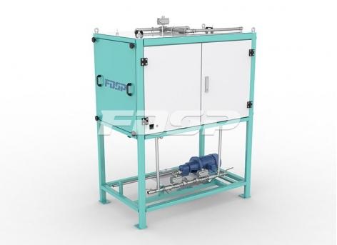 Máquina de pulverização de óleo de rolos da série SYPG
