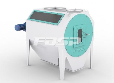 Peneira de limpeza preliminar de cilindro da série SCY