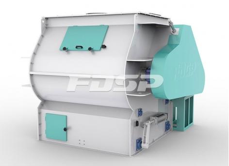 Misturador de pá de eixo duplo da série SHSJ