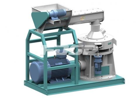 Granulador de molde de anel vertical da série LZLH